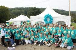 The Pittsburgh Chapter's ovarian cancer survivors gather to break the silence on ovarian cancer.